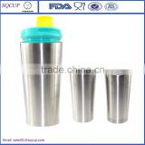 Stainless steel double wall vacuum insulated thermo travel mug,beer mug,coffee mug tumbler