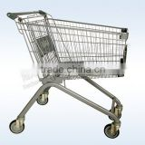 Dachang Manufacturer Shopping Trolley Chrome or Powder Coated or Galvanized with wheels