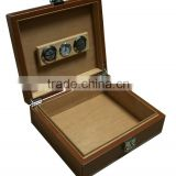 Luxury PU leather cigar case and humidor