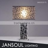 Silver and black classic cheap bed table lamp for bedroom                                                                         Quality Choice
