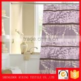 Factory wholesale curtain pvc fabric plain woven 100%polyester curtain fabric