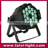 Night clubs professional Multifunctional 18pcs 4in1 LED Disco Par Light