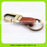 Promotional Cheap Blank Leather Key Chain Bus Keychain
