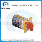 LW5-40 5.5N/3 High quality dc voltage electrical changeover rotary cam switch two poles 40A three poles sliver point contacts