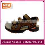 2016 Mens Summer Fancy Leather Sport Sandals Beach Shoes Hiking Fisherman Strap Open Toe