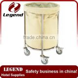 Hotel equipment Folding iron laundry industry trolley