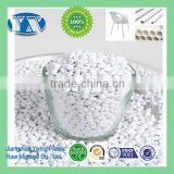 Plastic Dyestuff High Concentration PE/PP/PS/ABS/PET White Masterbatch for Pipe/Bag/Film