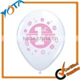 Promotional printable balloons