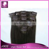 6A grade top selling alibaba express clip in hair extensions for african american