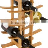 hot sales wholesale round wine rack stackable wine rack bamboo Home Collection Wine Rack