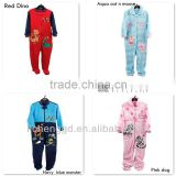( 7318340 ) 12M-5Y 4COLOR wholesale Nova baby kids winter coral fleece night wear children sleepsuit