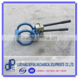 Manual lever pipe clamp