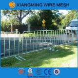 cheap super quality Metal hot dipped galvanized flat feet road barrier,safety barrier china supplier
