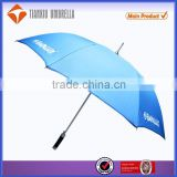 aluminum shaft and ribs golf umbrella