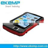 EKEMP Android IP65 Capacitive Touch Screen Biometric Rugged Tablet PC with Bluetooth and Camera