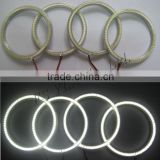 car accessories auto headlight for bmw e46 coupe 2d halo rings led angel eye ring for bmw e46 2d