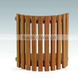 cedar wood high quality sauna lamp shade sauna accessory supplied by China sauna & swimming pool wholesaler