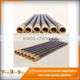 85bar Heavy Duty concrete pump rubber end hose used for delivering concrete in construction industry