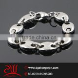 316 L stainless steel handcuff fashion bracelet