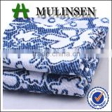 Shaoxing Mulinsen polyester knitted print bubble design jacquard fabric for clothes women