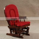2013 Baby Glider Chair without ottoman in Red Cushion