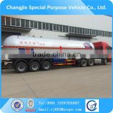 59.6m3 propane 3 axle trailer lpg road tanker,lpg tank for sale,lpg tanker for sale