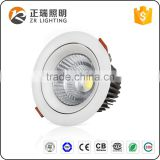 factory supply 12W 20W led aluminum spotlight BIS CE certifition COB LED downlight 7W 30W