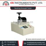 Premium Quality Infrastructure Bursting Strength tester from Leading Exporter at Best Price