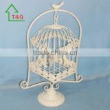cheap wholesale decorative bird cage welded wire mesh roll in white