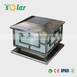 Decorative garden solar lights for fence post, 4W solar panel garden solar light (JR-3018)