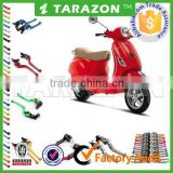 TARAZON brand vespa parts extendable &folding brake clutch lever for piaggio scooter