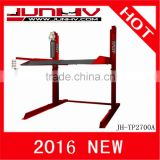 JUNHV JH-TP2700A launch car lift 2 post parking lift two post car lift hydraulic lift auto lift