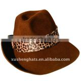2011 fashion men wool felt borsalino hat