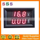 Three Bit Dual LED Digital DC4.5-30V 0-100A Voltmeter Ammeter Voltage Amps Meter Power DC4.5~30V