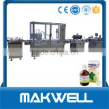 high speed hot sale full automatic small bottle washing filling capping machine(trade assurance) made in China
