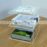 office file rack desktop file holder