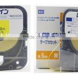 tape cassette LM-TP309Y(9mm,Yellow) for MAX electronic lettering machine tube marking machine