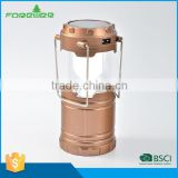 ABS Solar Power Rechargeable Camping Lantern Emergency Light Ultra Bright solar inflatable light