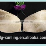 beautiful sexy seamless bra design sexy lace invisible cloth silicone gel bra grils sexy bra
