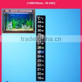 Digital Aquarium Thermometer for Fish Tank Accessories, 18-34 degree in Celsius and Fahrenheit scale, Customized Allowed