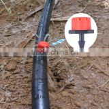 connect drip irrigation pipe adjustable emitter(manufacturer)