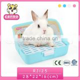 Superior plastic pet potty pet rabbit toilet pet products