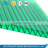 Fast supplier colored polycarbonate gazebo sheet