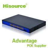 2016 Good quality 24 poe port 250W Ethernet switch 10/100/1000 M gigabit fast ethernet switch