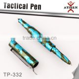 Camo Color 3 Color Self Defense Tool Tactical Pen Emergency Police Military Glass Breaker