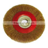 Crimped Circular Steel Wire Brush