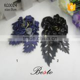 New fashion antique ladies leather flower for sandal