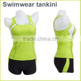 Swimsuit Professional performance fabrics cheap Swimwear Tankini