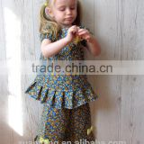 Wholesale OEM for cute baby bloomers set and baba baby wear