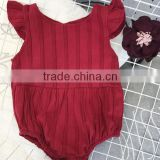 Newborn Baby Girl Clothes Pictures Baby Garment Factory Direct Sales Girl Icing Ruffle Romper